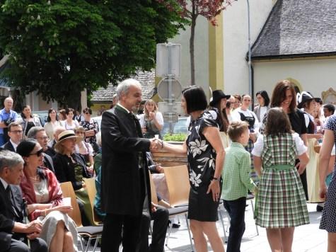 40 jähriges Priesterjubiläum Egon Pfeifer