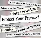 safeguard the bloggers right to privacy