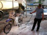 It's a BMW. It must be kept clean!
