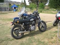 Leno's SR500, Bethanga 2012