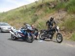 Roadside repairs, 2012 Rally!