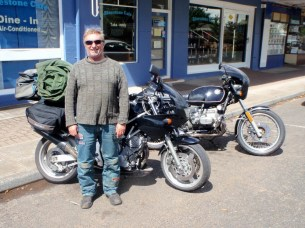 Dave Singleton and his TRX, all the way from WA for the 2013 Rally