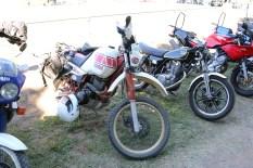 L-R: XTZ750, XT600, SR500, TRX850