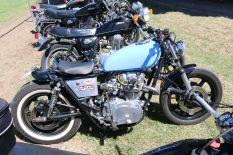 Nice XS650 bobber, Bethanga 2015