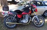 Mike Cowie's 1980 SR500G, Bethanga 2013