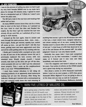 Classic Motorcycle Mechanics, Issue #242, December 2007