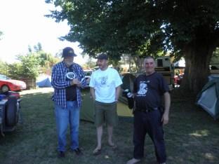 Spannerman, Craig & Manny discuss their Show 'n' Shine votes, Bethanga 2015