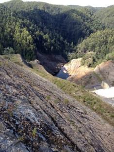 Reece Dam, western Tasmania.