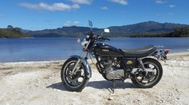 Brendan's SR500, Lake Pedder.