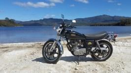 Brendan's SR500, Lake Pedder.