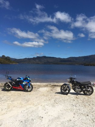 Lake Pedder.