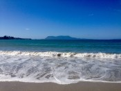 Maria Island, as seen from Orford, Tasman Hwy.