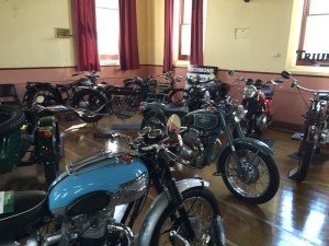 British Motorcycle Club of Tasmania classic motorcycle show, Richmond.