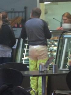 Gary's big girl's pants, Swansea Bark Mill.