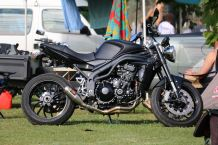 Ryan's Speed Triple, Bethanga 2016.