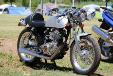 Geoff Garlick's SR500, Bethanga 2016.
