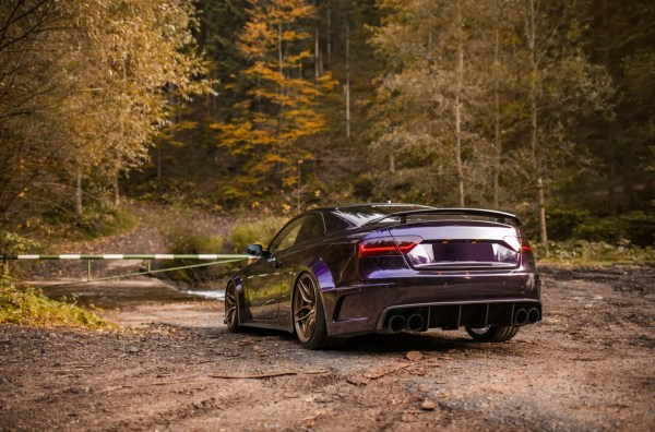 Supercharged Audi S5 SR66 widebody kit