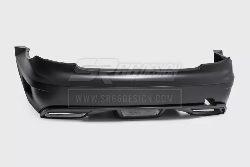 rear bumper - Mercedes CL C216 (W216) SR66 wide body kit