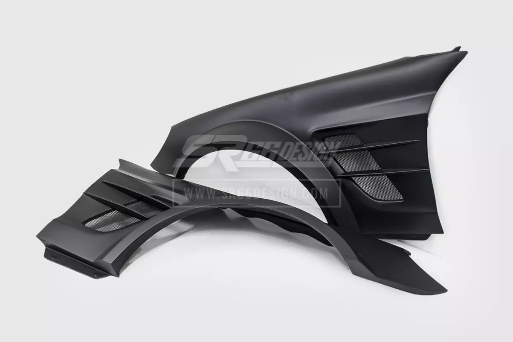 front fenders - Mercedes SL R230 SR66.1 wide body kit