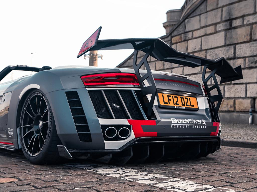 Audi R8 Spyder wide body kit by SR66 Design