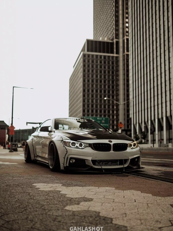 BMW 4series (F32, F33, 428i, 335i, 440i) SR66 wide body kit