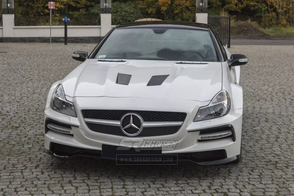 Mercedes-Benz SL R230 SR66.1 wide body kit