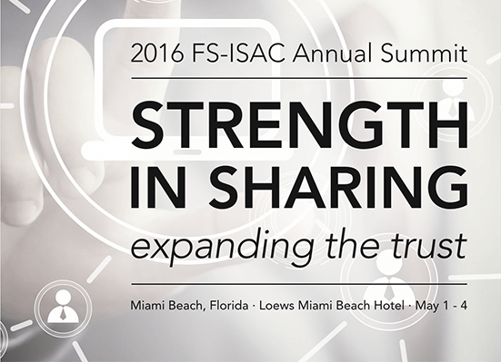 PRESS RELEASE: Security Risk Advisors to Present at 2016 FS-ISAC Annual Summit