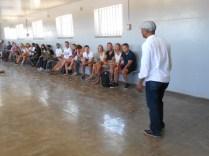 A prisoner explaining the agony