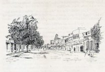 A quiet East Mada street