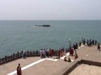 At Swami Vivekananda Rock Memorial