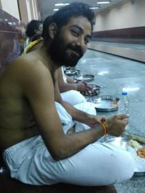 Prateek Shukla@Sringeri