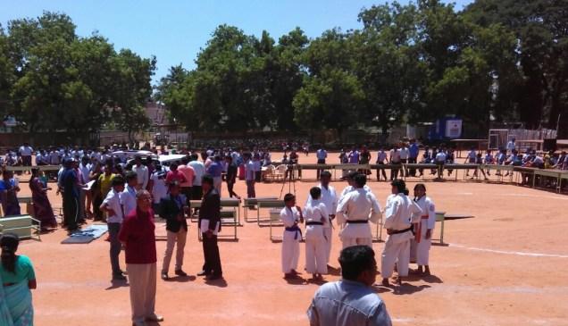Karate Colleagues of Pradeep