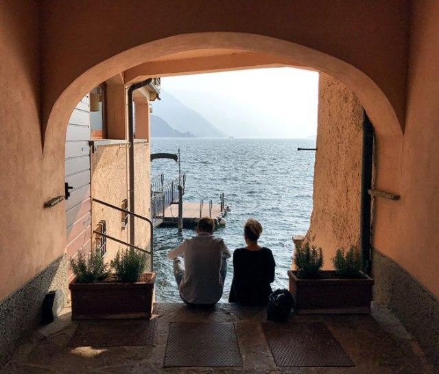 Varenna era un borgo di pescatori affacciato sul Lago di Como