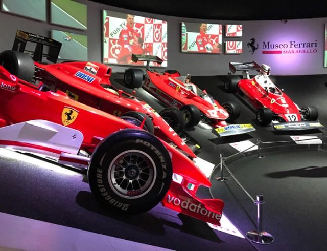 Il Museo Ferrari di Maranello è da vedere assolutamente per gli amanti dei motori