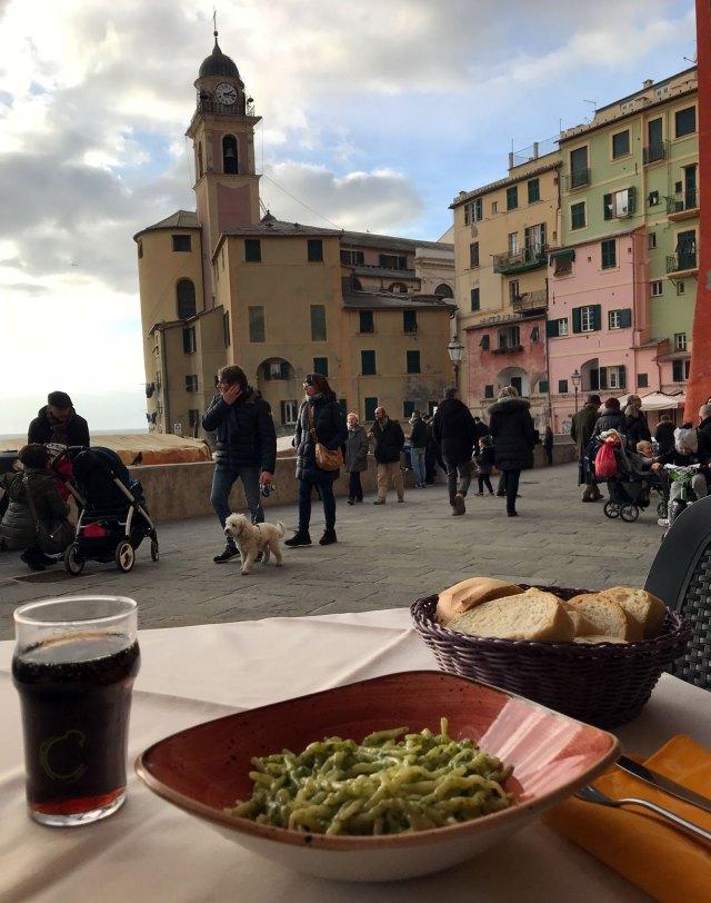 A Camogli non si possono perdere le specialità culinarie della Liguria