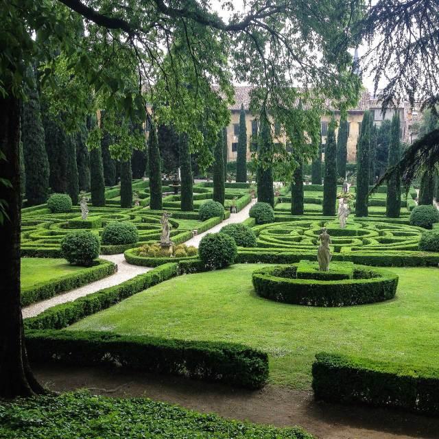Cosa vedere a Verona? In settima posizione il meraviglioso Giardino Giusti, gioiello del Rinascimento