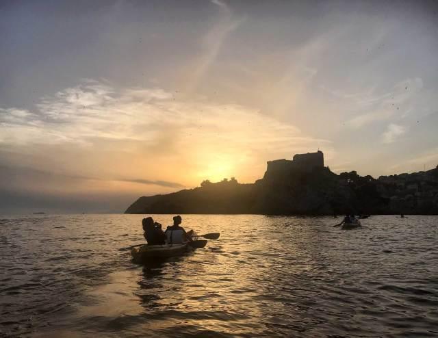 Il kayak, per visitare Dubrovnik da un inedito punto di vista