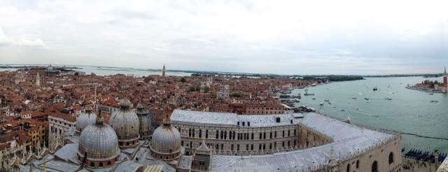 La vista più bella di Venezia? Certamente quella dal Campanile di San Marco, nel cuore della città