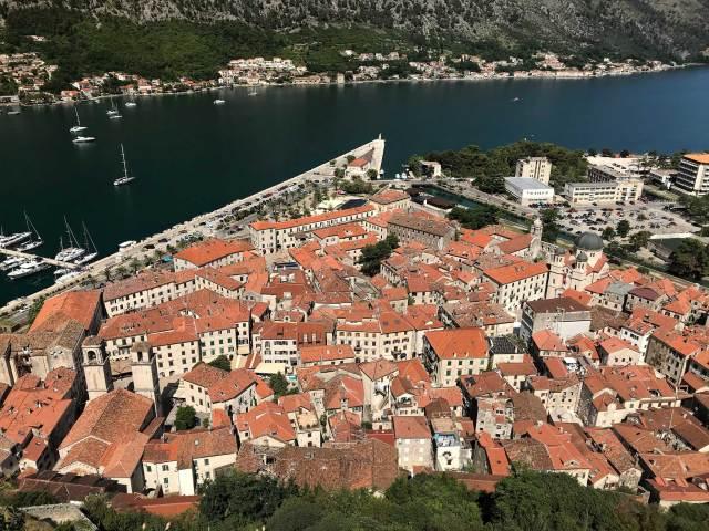 Le fortificazioni veneziane Patrimonio Unesco sono da visitare a Kotor!