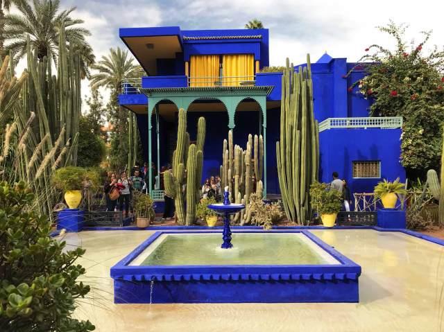 Cosa vedere a Marrakech? Di certo il Giardino Majorelle... ti incanterà!