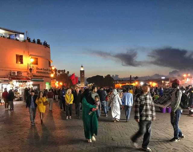 Piazza Jamaa El Fna, il cuore pulsante di Marrakech