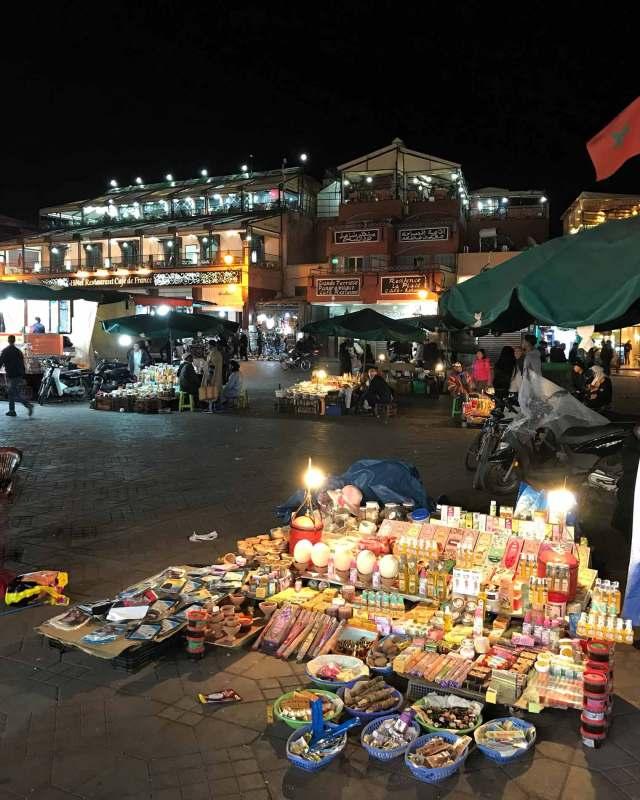 Piazza Jamaa El Fna a Marrakech, il cuore vibrante della città