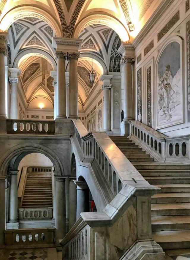 L'ex Monastero dei Benedettini è una delle cose da visitare a Catania