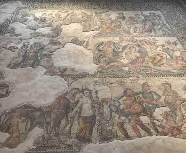 Il Parco archeologico di Pafos è il più importante e ricco di Cipro