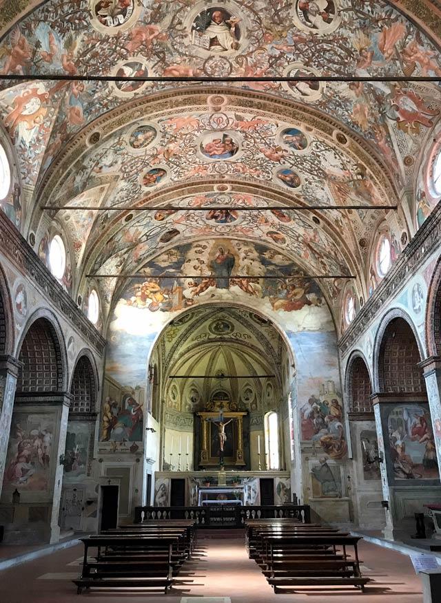 La chiesa capolavoro di Soncino è Santa Maria delle Grazie, gioiello del Rinascimento