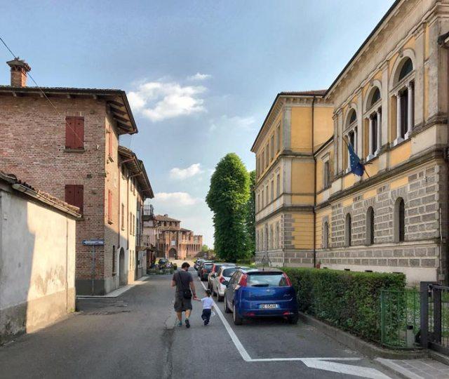 Soncino è un borgo splendido, degnamente inserito tra i borghi più belli d'Italia