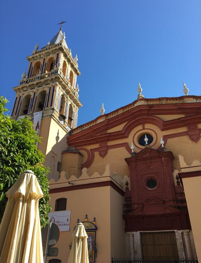 La Chiesa de Santa Ana è la più bella cosa da vedere a Triana a Siviglia