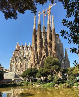 La Sagrada Familia di Gaudì è il simbolo di Barcellona!