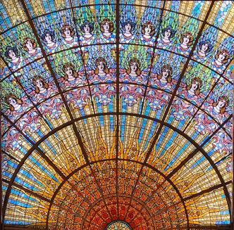 Il Palau de la Musica Catalana è un capolavoro da vedere visitando Barcellona