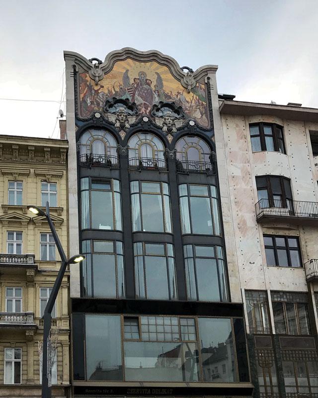 La Banca Turca vicino a Via Váci è uno dei più bei edifici secessionisti di Budapest